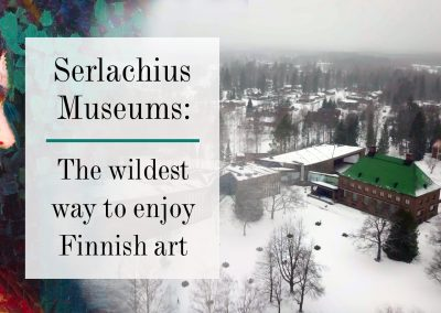 The wildest way to enjoy Finnish art – Gösta museum