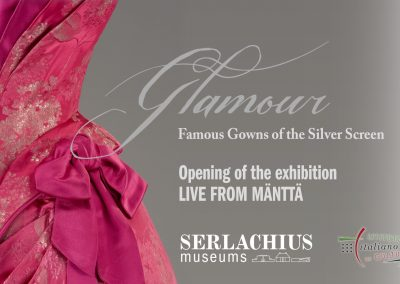 Glamour  – opening of the exhibition I Serlachius Museums